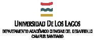 Departamento Ciencias del Desarrollo – Universidad de Los Lagos Campus Santiago